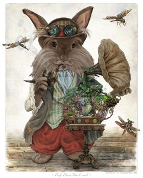 Professor Oliver MacCrumb by Steelgoddess