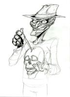 Freddy sketch by mastaczajnik