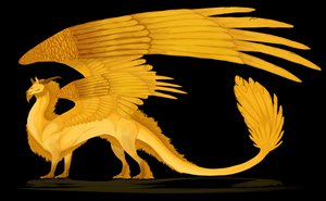 Golden Dragon by smeemee