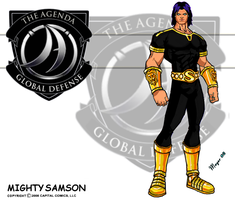 Mighty Samson, Black-Gold by skywarp-2