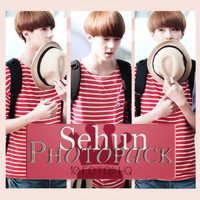 Photopack Sehun- Exo 007 by DiamondPhotopacks