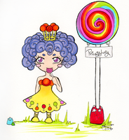 Candyland - Princess Lolly by AngelicPara
