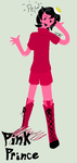 Adventure Time OC: Pink Prince by Hetalia-animegirl