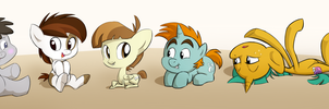 My Little Bronies by GirGrunny