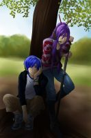 Vocaloid - Kaito and Gakupo by LadyGalatee