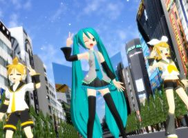 MMD Caramelldansen!! by Magic-yumi