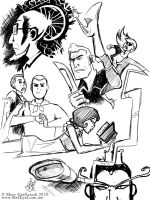 Daily Doodle - Venture Bros by RedEyeLoon