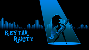 Keytar Rarity wallpaper - equalizer style by ManeFunction