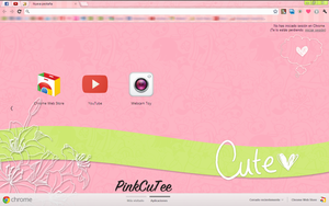 Tema Google Chorme PinkcuTee by Mariia22