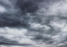 Stormy Sky 01 by the-night-bird