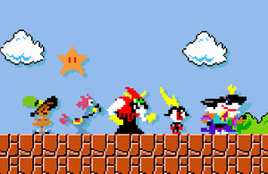 Wander Over Yonder in Super Mario Maker by Jarquin10
