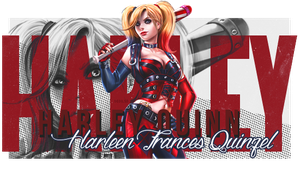 Harley Quinn - Sign by RavenLSD