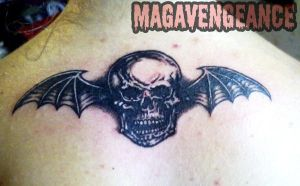 Deathbat Tattoo by maga-a7x