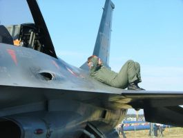 Lazing On A Wing by DenkMit
