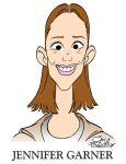 Jennifer Garner Caricature by JayFosgitt