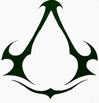Assassin's creed redesign symbol by Justicewolf337