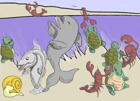 The Lobster Quadrille by Akei-Tyrian