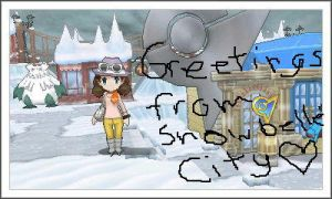 'Greetings From Snowbelle City~' by RaindropLily