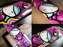 kawaii Ipod caseskateboard by ladysnowbloodz
