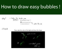 Bubbles Tutorial by mydlas