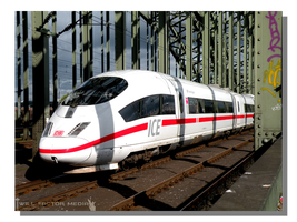 Inter-City Express Train by WillFactorMedia