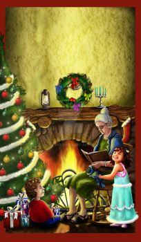 Christmas Storys - My First Book Cover by litmanen1
