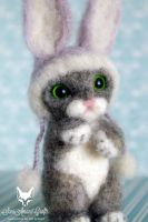 meet my Easter bunny by SaniAmaniCrafts