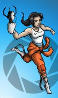 Chell by GuitaroMan4