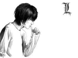 L Lawliet from THE LAST NAME by kevinandy
