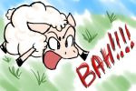 Angry Sheep by MeiCailya