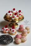 1:12 scale Marie Antoinette inspired pastries by Snowfern