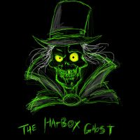 Hatbox Ghost Doodle by disneyjedi1