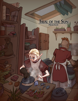 Trial of the Sun Prologue Title by jeinu