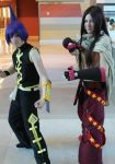 Ren Tao and Hao Asakura, Phoenix Comicon '12 by SoaringVisions