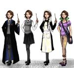 The Big Four: Rapunzel outfits by ZLynn