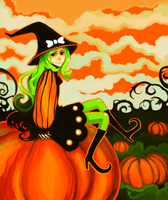 pumpkin patch by oranges-lemons