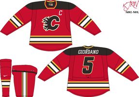 Calgary Flames Road V1 by thepegasus1935