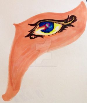 Colors behind the eye. by katrinkaholmes91