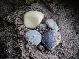 stones and sand beauty in small wonders of nature by analovecatdog