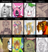 2011 Summary of Art by Kiracuils