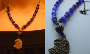 Ravenclaw necklace by jeuxsansfrontieres