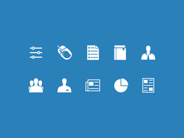 Commercial Corporate Icon Set By Artworkbean by artworkbean