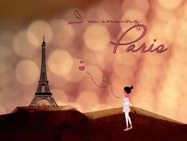 I'm coming paris by AMWAJ-BH