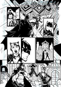 Batman - Catwoman Page 01 by darnof
