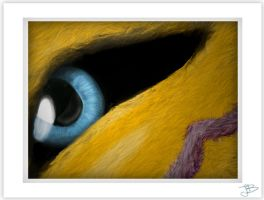 EYE_textured by gurudJ