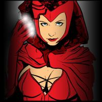 The Scarlet Witch by Mumah