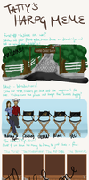 Tatty's Meme-Painted Desert Style WIP by painted-cowgirl