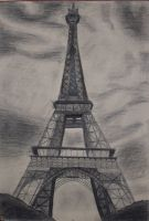 The Eiffel Tower by sognidolci