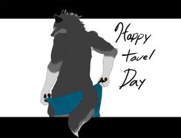 Towel Day 2012 by Zire9
