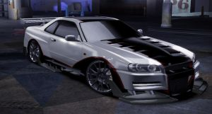 Nissan Skyline GT-R 34 by Xenix-be